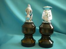 Chess Pieces - King and Knight - Avon Bottles - No after Shave