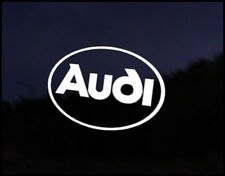 Audi Logo Car Decal Sticker Audi A2 A3 A4 S3 S4 RS3 RS4 TT TTRS Tdi Quattro