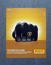 [GCG] K210- Advertising Pubblicità -2003- PIRELLI , PNEUMATICI LEADER