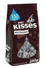 HERSHEY'S MILK CHOCOLATE KISSES candy 56 oz 3.5 Lbs 330 Pieces FRESH Bulk