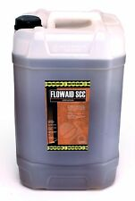 Concrete Super Plasticiser: 25Litre water reducing Flowaid SCC superplasticizer
