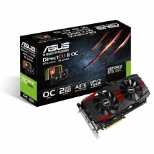 ASUS GeForce GTX 960 GTX960-DC2OC-2GD5-BLACK 2GB 128-Bit GDDR5 Graphic Card