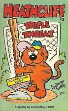 Heathcliff #3- Triple Threat by George Gately  (Paperback, 1977)