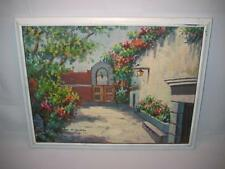 "Vintage Signed Original Oil Painting On Canvas ~ K. Harrison~ 16"" X 12"""