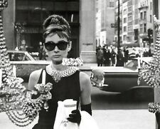 AUDREY HEPBURN Poster - Window B&W Medium Size 16x20 ~ Breakfast At Tiffany's