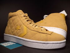 CONVERSE PRO LEATHER UND UNDFTD UNDEFEATED TAFFY BROWN GOLD WHITE 137374C DS 10