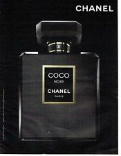 PUBLICITE ADVERTISING 027  2012   parfum Coco Noir par Chanel