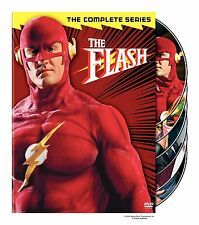 The Flash Complete Series Series TV Show Collection Lot DVD SET Episodes Comic R