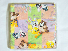 BABY LOONEY TUNES  1ST-BIRTHDAY   16-PAPER  LUNCH  NAPKINS -PARTY SUPPLIES