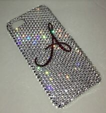 Initial Crystal BLING BACK CASE FOR IPHONE 6s 6 4.7 Made With SWAROVSKI ELEMENTS