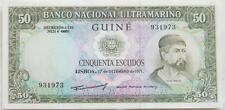 PORTUGUESE GUINEA: 1971 50 Escudos in scarce Crisp Uncirculated condition!