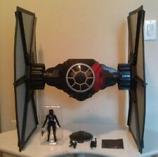 "Star Wars Black Series 6"" First Order Special Forces Tie Fighter Loose Complete"
