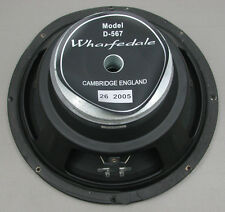 "Wharfedale D-567 SI-12 PA Speaker 12"" Woofer Driver 8 Ohm - Made in England"