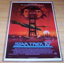 Star Trek IV The Voyage Home  11X17 Movie Poster Shatner Nimoy