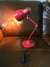 RETRO RED DESK LAMP, Red