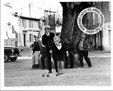 Lot of 2, JEAN SEBERG, MERVYN LEROY mint stills MOMENT TO MOMENT (1966) Garrison