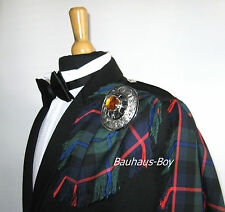 KILT FLY PLAID MODERN CAMPBELL OF CAWDOR TARTAN FRINGED MADE IN SCOTLAND KILTS
