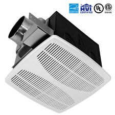 BV Super Quiet 110 CFM 1.3 Sones Bathroom Ceiling Ventilation Exhaust Fan BF02