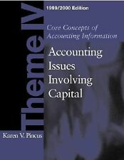 Core Concepts of Accounting Information, 1999-2000 : Theme 4 by Karen Pincus...