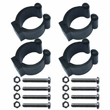 4 PCS Kayak paddle clip paddle holder keeper VERTICAL MOUNTED NO SIDE MOUNTED