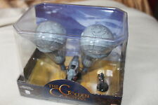 THE GOLDEN COMPASS - LEE SCORESBY'S AIRSHIP - COLLECTABLE MOVIE MINIATURE -BOX