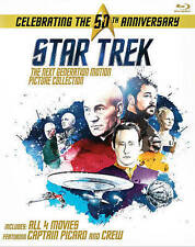 Star Trek: The Next Generation Motion Picture Collection (Blu-ray Disc, 2016)