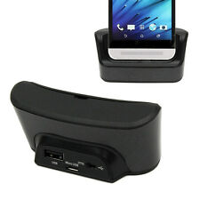 Desktop USB Sync Charging Charger Dock Station & OTG Function For HTC One M8 E8