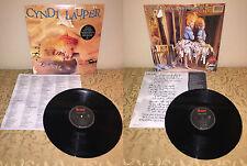 CYNDI LAUPER TRUE COLORS VINYL LP 1986 PORTRAIT RECORDS R 40313 NM