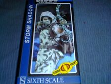 SIDESHOW 1/6 SCALE G.I.JOE STORM SHADOW NINJA COLLECTORS FIGURE SNOW CAM/OUT FIT