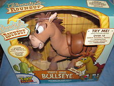 TOY STORY COLLECTION-- WOODY'S ROUNDUP HORSE BULLSEYE THINKWAY--ELECTRONIC--NEW