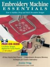 Embroidery Machine Essentials: How to Stabilize, Hoop and Stitch Decorative Desi