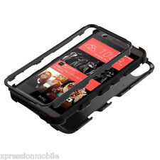 For HTC Desire 626 626S 530 Hybrid ShockProof Protective Hard Case Cover BLACK