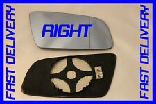 BMW 5 SERIES E60 E61 2003-2008 DOOR WING MIRROR GLASS  HEATED WIDE ANGLE  RIGHT