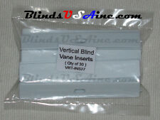 (Pack 30) NEW Vertical Blind Fabric Vane INSERTS Adjustable (INS27)