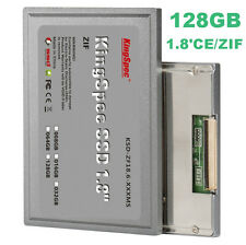 "Kingspec 1.8"" ZIF SSD 128GB for MacBook Air Rev A DELL D420 D430 HP Mini Sony"