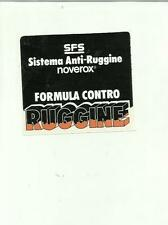 ADESIVO VINTAGE STICKER  SISTEMA ANTI RUGGINE NOVEROX