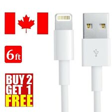 6FT 2M 8 Pin USB Data Sync Charge Charger Cable Cord For iPhone 6 Plus iPhone 5