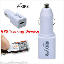 Portable Car Charger GPS Tracker Locator GSM/GPRS Real Time Tracking Device Spy