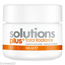 Avon Face Mask - Solutuons Total Radiance Vitamin Boost - Moisturising, Refining