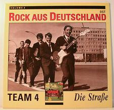 """[j787] TEAM 4 DIE STRASSE ROCK AUS DEUTSCHLAND OST - NEU -  VINYL 12"""" LP"""