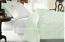 Queen Doona Quilt Cover Duvet Set Shabby Jadite Green Chic Bed Of Rag Roses New