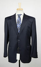 New. BRIONI Palatino Navy Blue Super 150's Wool 3/2 Button Suit 54/44 S $7495