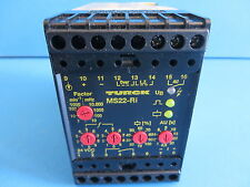 Turck MS22-Ri Rotation Speed Monitor w/ Frequency-Current Conversion 1 Channel