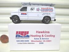 MATCHBOX 2006 HAWKINS HEATING & COOLING Winchester VA. FORD PANEL VAN NuMint Bxd