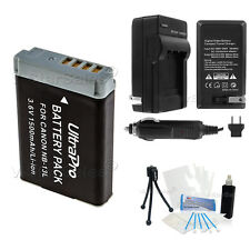 NB-13L NB13L Replacement Battery + Charger for Canon PowerShot G5X G7X G9X