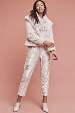 NWT Antropologie By Hei Hei Sequin Shift Joggers Sparkling Pants Small $188