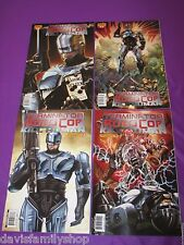Terminator vs Robocop Kill Human #1-4 Complete Dynamite Set Run Comic Comics VF