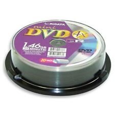 50 Ridata 4X Mini DVD-R DVDR Blank Disc Media 8CM 1.46 GB 30Min (Logo on Top)