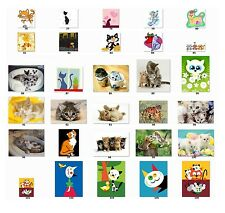 30 Personalized Return Address Labels Cats Buy 3 get 1 free (ca1)