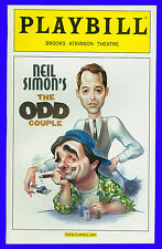 The Odd Couple + Playbill + Matthew Broderick , Brad Garrett , Nathan Lane